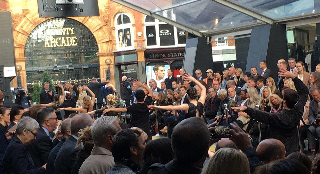 NSCD dancers officially open prestigious retail space in Victoria Leeds