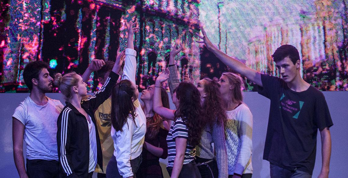 Collaboration produces a cacophony of dance, light and sound for LIGHT NIGHT Leeds