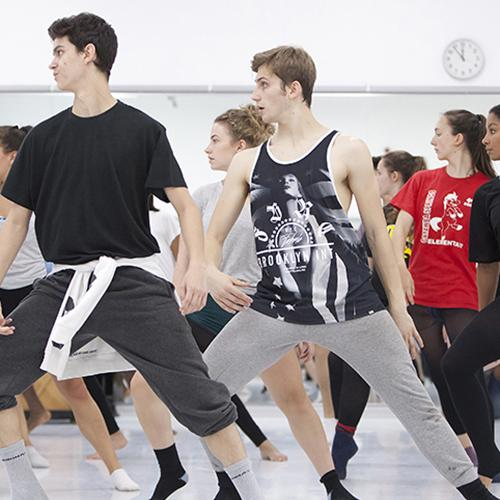 Alvin Ailey Dance Theatre partner with young dancers from the UKs Centres for Advanced Training (CATs)