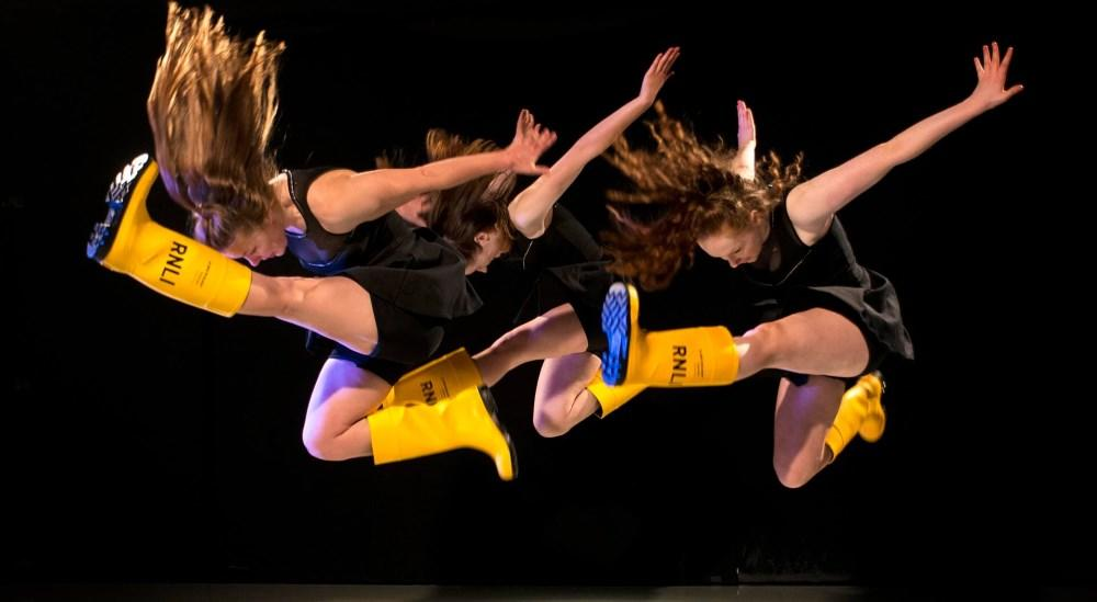 Dancers give it some welly in support of RNLI's Mayday campaign