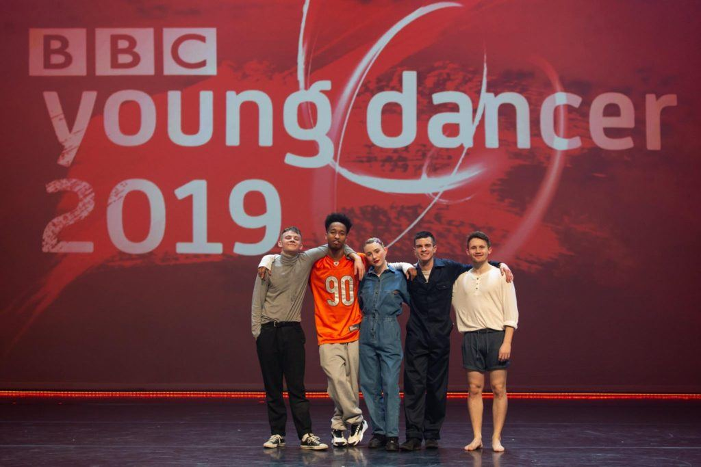 BBC Young Dancer street dance category finalists including NSCD's Max Revell