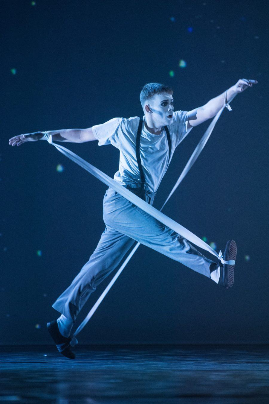 Max Revell performs in the Grand Final of BBC Young Dancer 2019