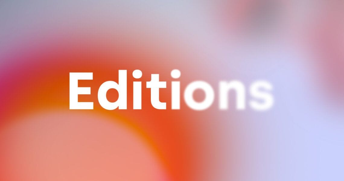 Editions: a new series of digital dance works