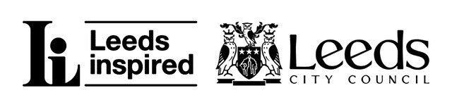 Leeds inspired and leeds city council logos